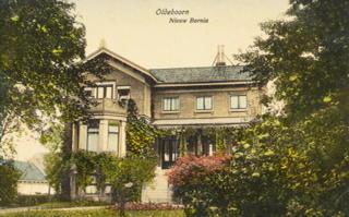 Het doktershuis ( 1908) waar UVV is opgericht n.l. in de huiskamer van huisarts Van Heel